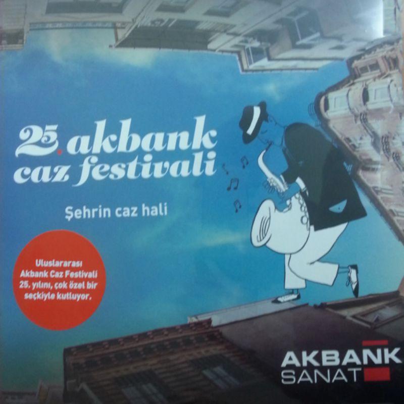 25_Akbank_Caz_Festival_Plagi_(Sayili_adet_ozel_bas