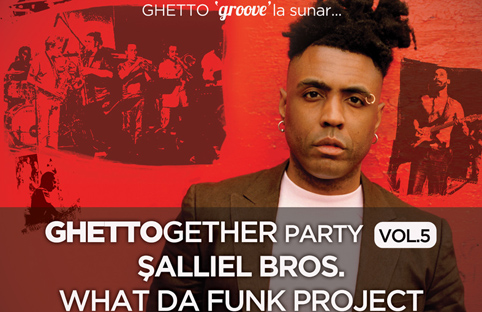 Ghettogether Party`lerinde boşa akıp giden funk`a izin yok: Şallıel Bros. What Da Funk Project`te bu kez Omar`ı ağırlıyor.