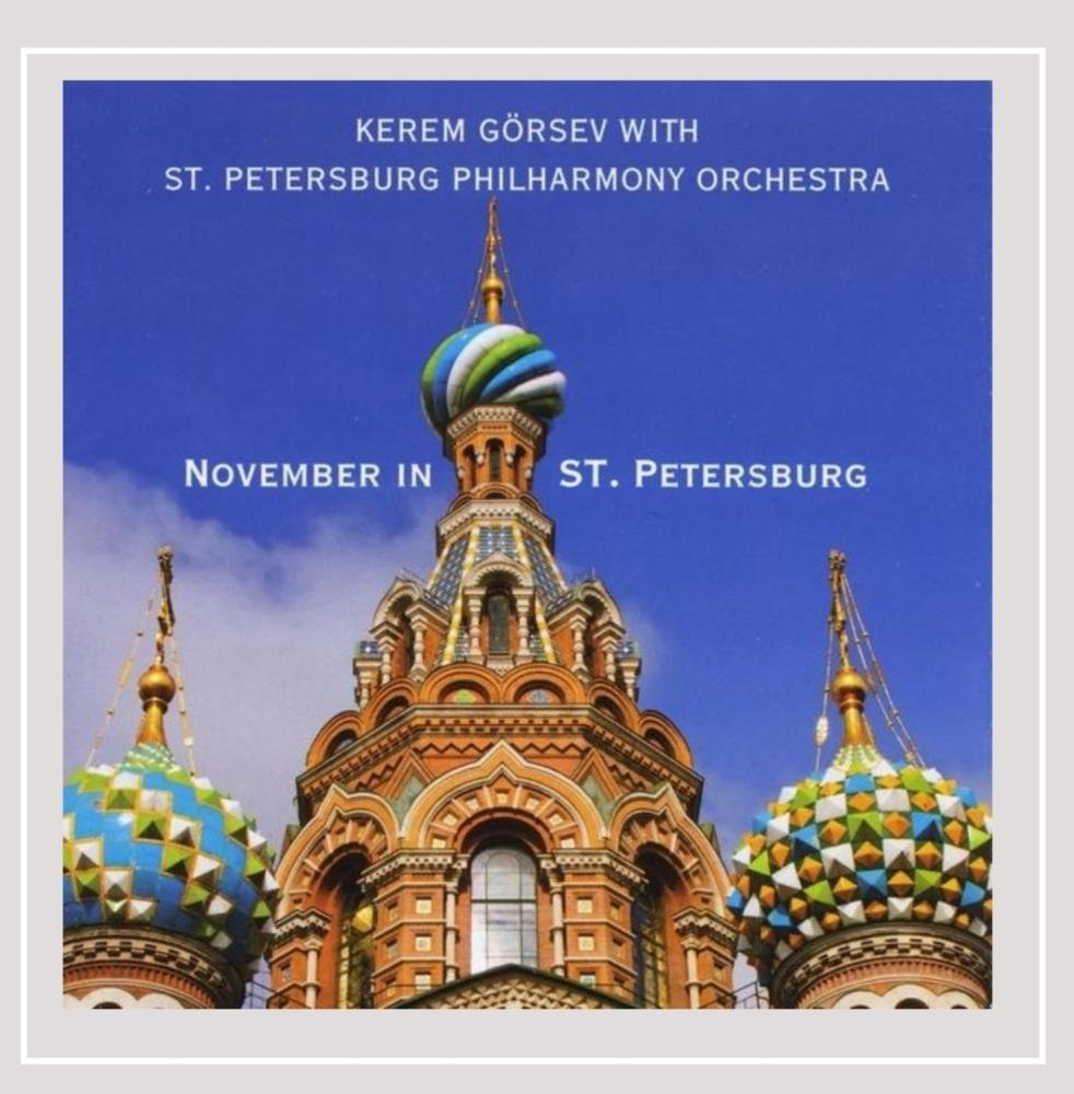 Kerem Görsev with St. Petersbourg Philharmony Orchestra November in St. Petersbourg